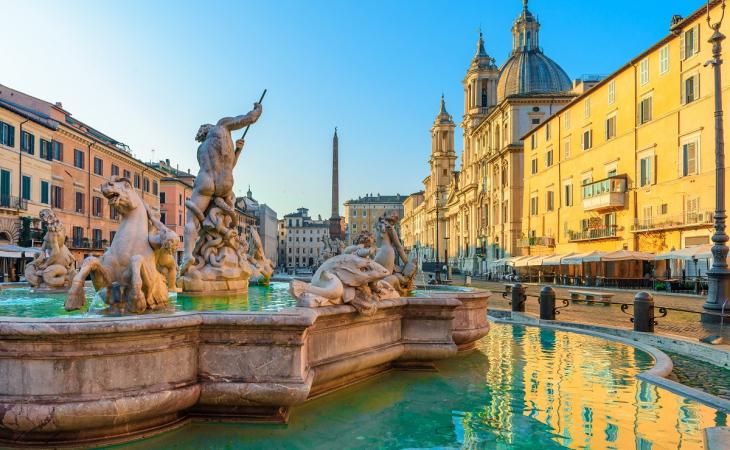 Glasgow to Rome