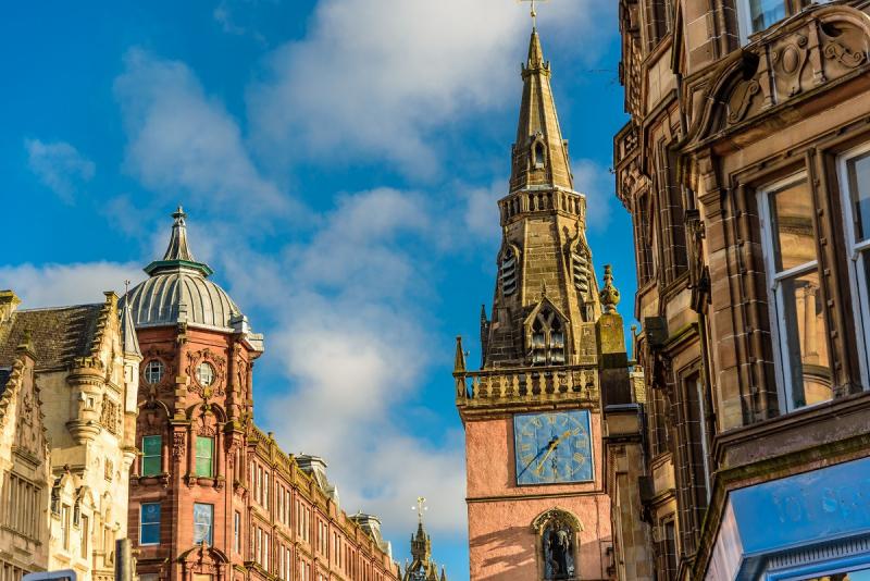 Glasgow to Edinburgh