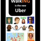 Walking is the new Uber