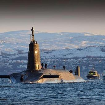 HMS Vigilant Starboard Families Charity Walk