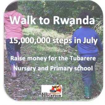 Aid for Education walk to Rwanda