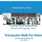 Transputec Walk for Haven