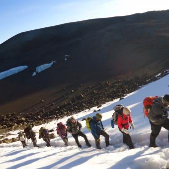 Mountain Kilimanjaro Walking
