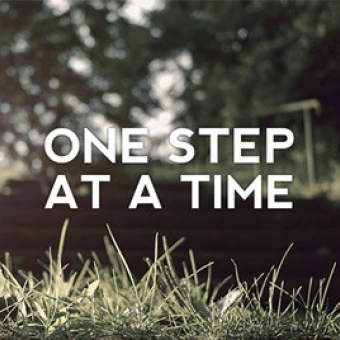 IN: One Step At a Time