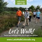 Lets Walk! Colorado