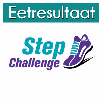 Eetresultaat step challenge