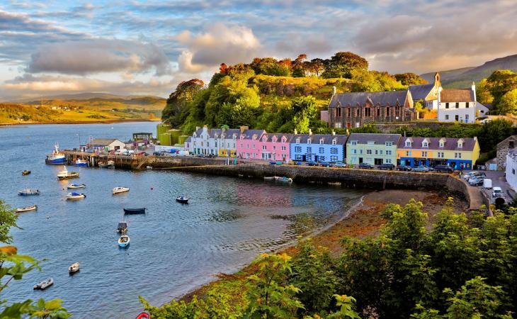 Scotland's Baton Route
