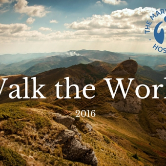 Mary Stevens Hospice - Walk the World 2016