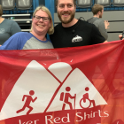 Peaker Red Shirts Munro Step Challenge 2019