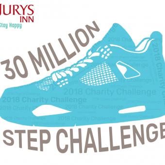 Jurys Inn Senior Manager Step Challenge
