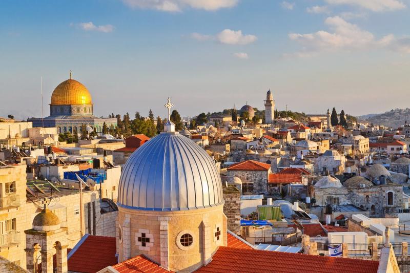 Jerusalem to London