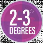 2-3 Degrees