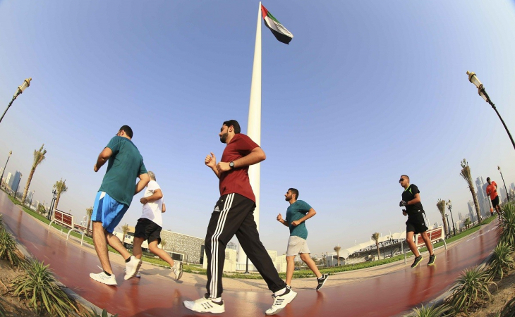 #LetsWalkSharjah: World Health Organisation Healthy City 2015