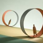 Walking round in circles